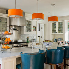 Contemporary Kitchen by Katie Rosenfeld Design