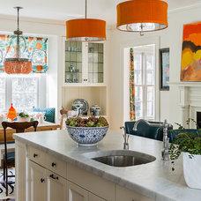 Contemporary Kitchen by Katie Rosenfeld Design