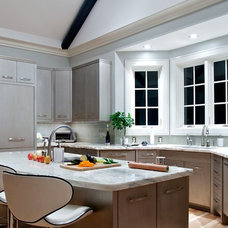 Transitional Kitchen by In Site Designs