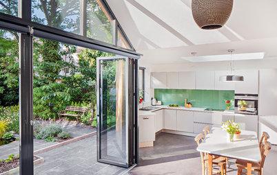 Heißer Anbau: Ein Wintergarten wird zur Küche