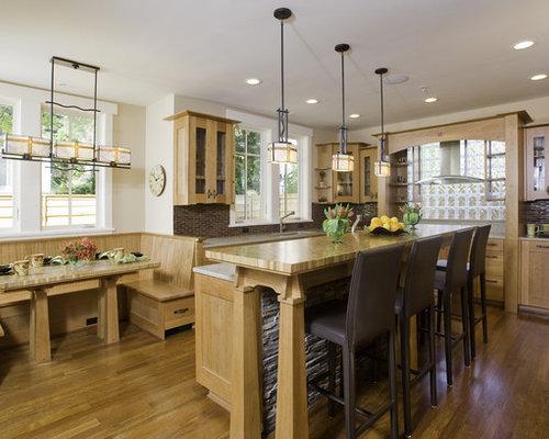 Kitchen Island Breakfast Bar Home Design Ideas, Renovations & Photos