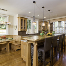 Craftsman Kitchen by Christian Gladu Design