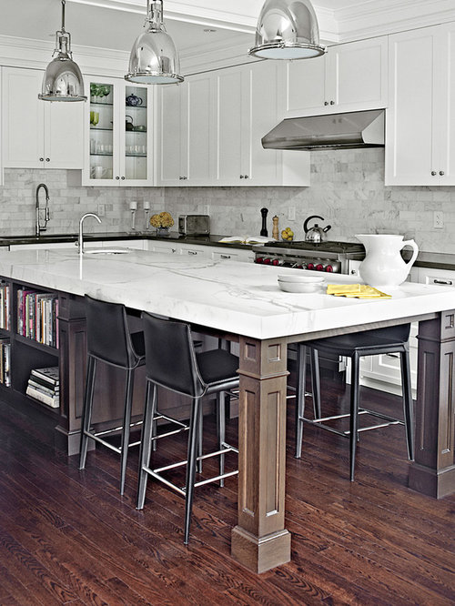 Kitchen island seats home design ideas renovations photos Eat in kitchen island