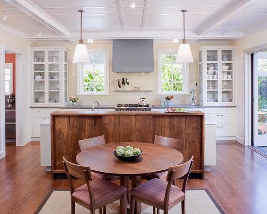 glass kitchen cabinets | houzz