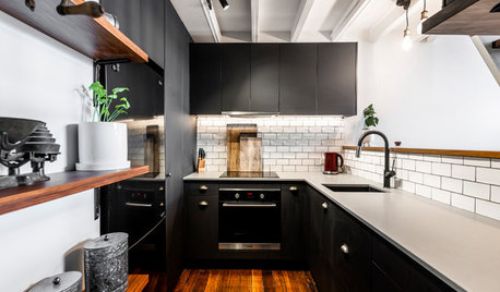 Kitchen Tour: Industrial-Style Cookspace Mixes Fun with Function