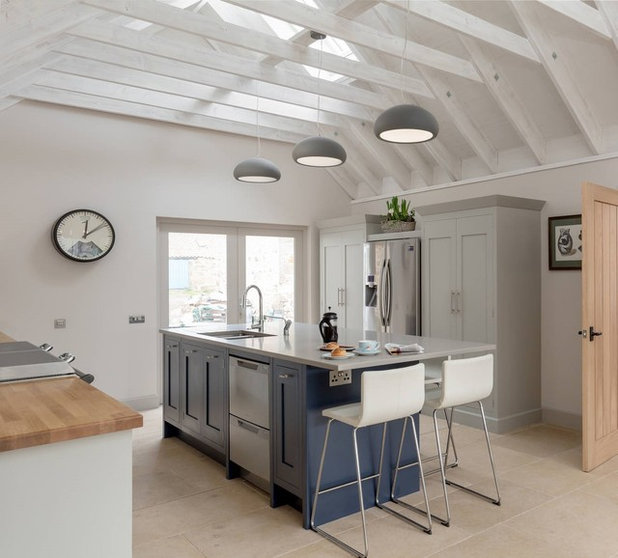 Kitchen Of The Week: Industrial Chic In A Scottish Barn