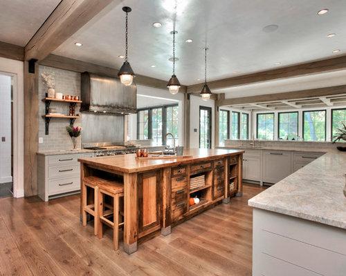 Green Kitchen Cabinets | Houzz