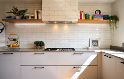 Kitchen Tour: A Cluttered Kitchen Gains Order, Space and Light