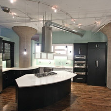 Industrial Kitchen by Amish Custom Kitchens