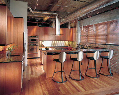Exposed Spiral Ductwork Home Design Ideas Pictures Remodel And Decor