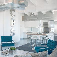 Industrial Kitchen by Tara Dudley Interiors