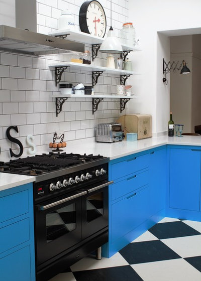 Kitchen Of The Week A Victorian Kitchen With American Diner Style
