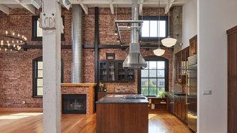 Industrial Loft Kitchen & Master Bath
