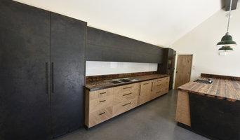 Industrial Oak and Steel Kitchen