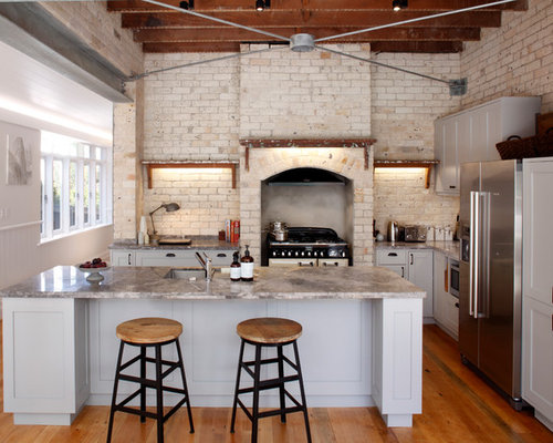 Industrial Kitchen Design | Houzz