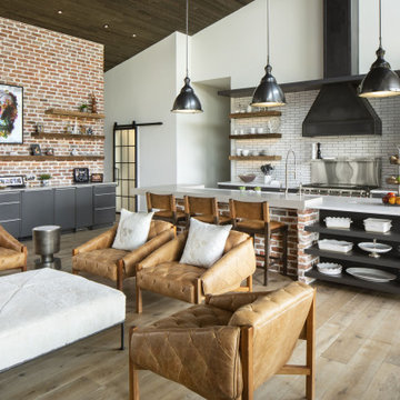 Industrial Ranch House