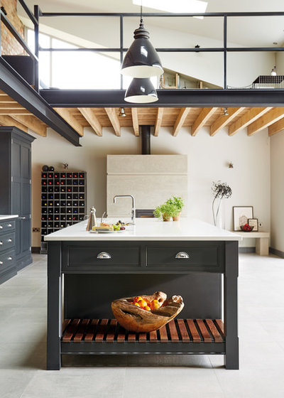 Industrial Kitchen by Tom Howley