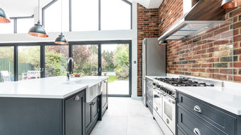Industrial Style Shaker Kitchen - Woodford Green