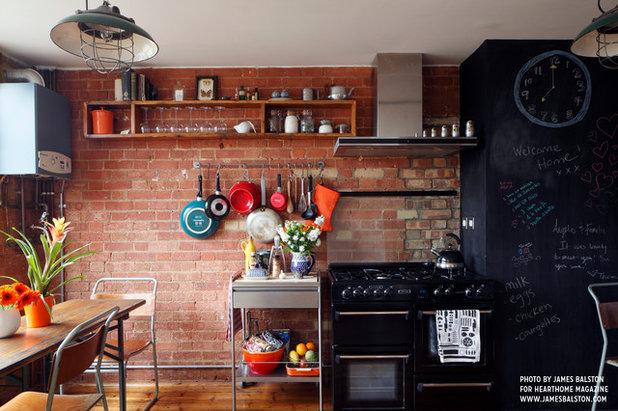 Industriale Cucina by Cassidy Hughes Interior Design