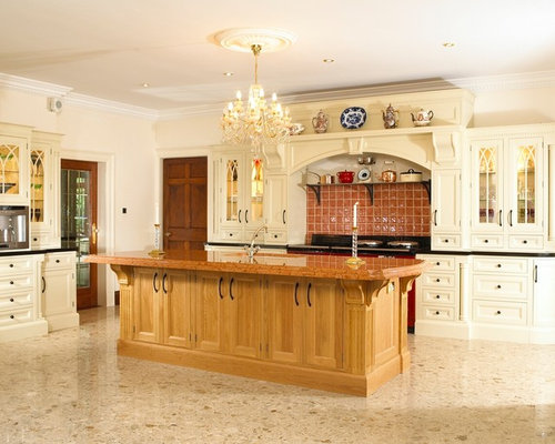 Dublin Kitchen Design Ideas Renovations Photos With Red