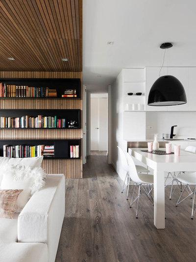 7 meravigliose pareti in legno per scaldare la casa