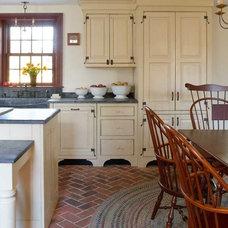 Traditional Kitchen by Inglenook Tile Design