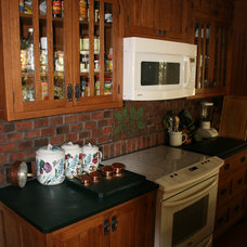 Traditional Kitchen by Inglenook Tile Design