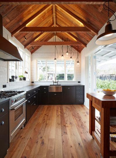 Transitional Kitchen by National Kitchen & Bathroom Association - NZ