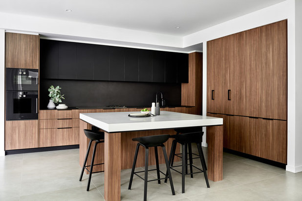 Contemporary Kitchen by schemes & spaces