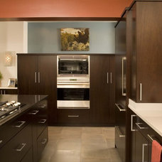 Midcentury Kitchen by Kayron Brewer, CKD, CBD / Studio K B