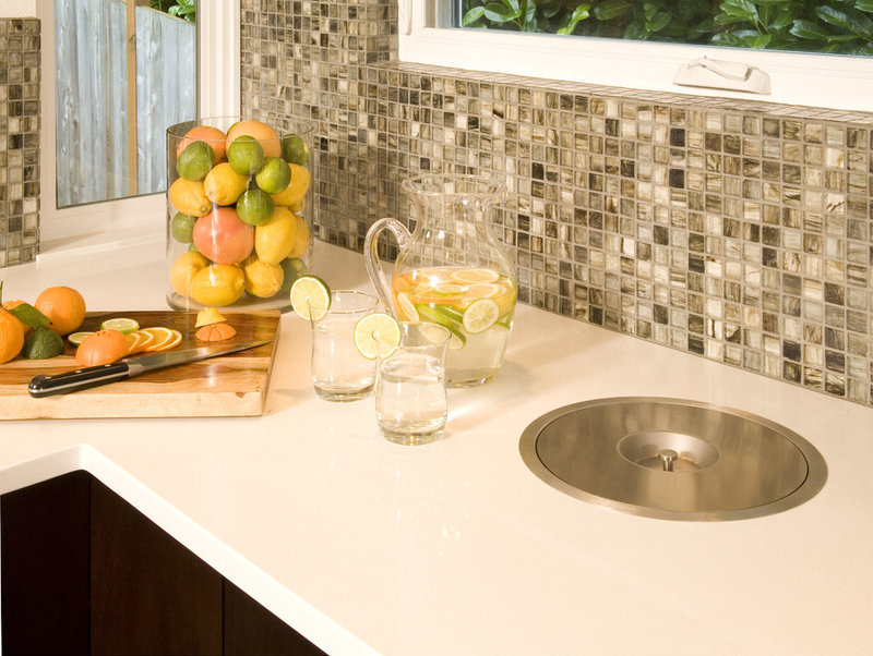 midcentury kitchen by Kayron Brewer, CKD, CBD / Studio K B