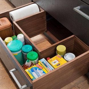 Innovative Cabinet Storage