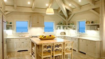 Innovative Oak Kitchen image, bleached driftwood finish