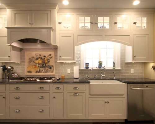 houzz white kitchen cabinets small enclosed kitchen design ideas renovations amp photos 4360
