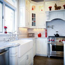 Traditional Kitchen by Design Line Kitchens