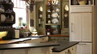 Inset kitchen with soapstone