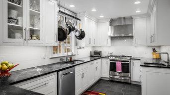 Inset Shaker Nordic White Kitchen