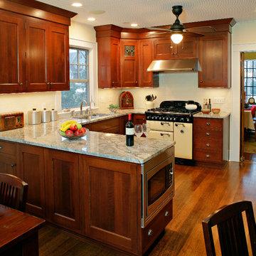 Inset Shaker Style Kitchen