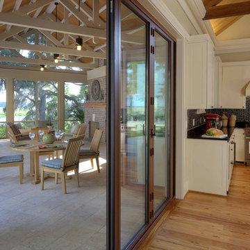 inside & outside kitchens