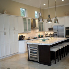Contemporary Kitchen by Inspired Interiors by Wendi, IIDA