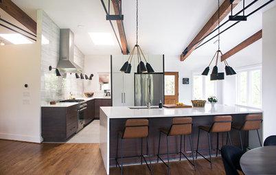 An Open Floor Plan Updates a Midcentury Home