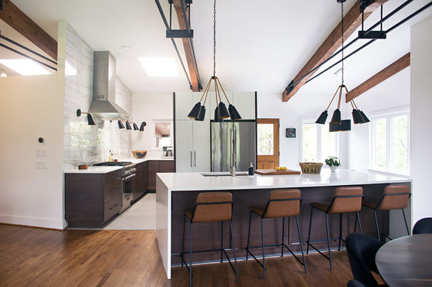 Midcentury Kitchen by Parisi Images