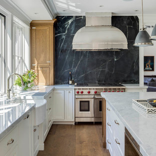 small kitchen ideas and best marble bar design with wooden.htm 75 beautiful traditional kitchen with black backsplash pictures  75 beautiful traditional kitchen with
