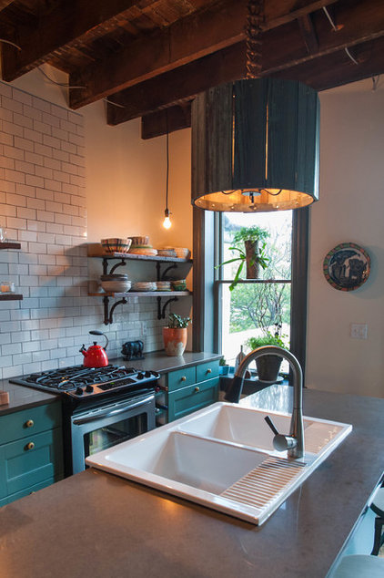 Eclectic Kitchen by Jason Snyder