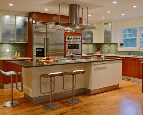 Cherry Wood Cabinets Houzz