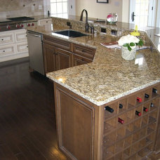 Traditional Kitchen by Top It Off, Inc.