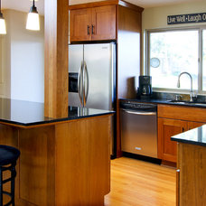 Contemporary Kitchen by Integra Construction Group