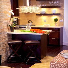 eclectic kitchen by Natalie Younger Interior Design, Allied ASID