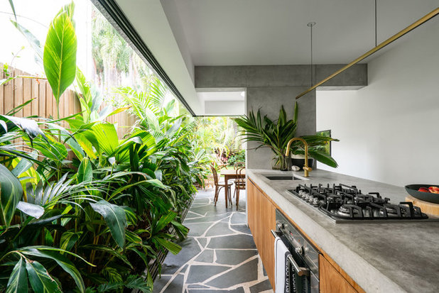 Eclectic Kitchen by Rebecca Lu Photography