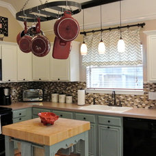 Farmhouse Kitchen by The Staged Style